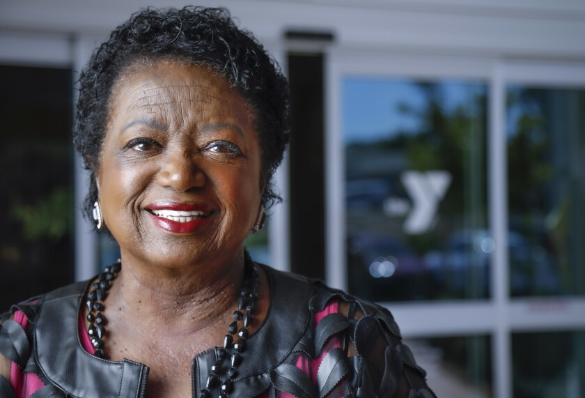 Dee Sanford started African American Business Women of Vision and is a Jackie Robinson Family YMCA board of advisors member. She is shown here at the YMCA, on Oct. 3.