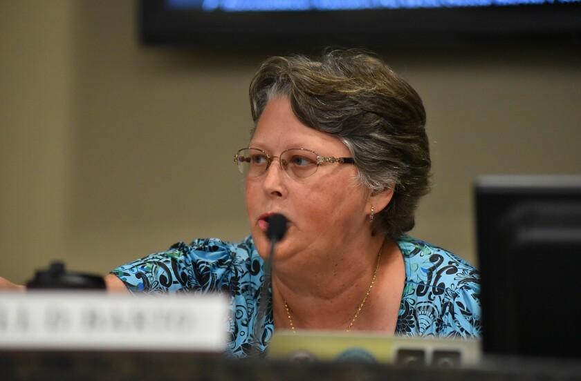 Cajon Valley board member Jill Barto