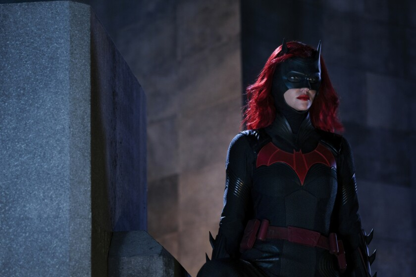 Ruby Rose as Batwowan in the CW's newest superhero series