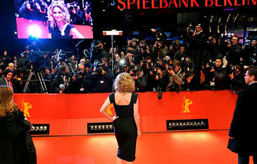 GLAMOUR MEETS A MESSAGE: At this year's Berlinale in the German capital, attended by celebrities including Michelle Pfeiffer, nine mostly European films focused on food.