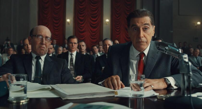 """Al Pacino in """"The Irishman."""""""