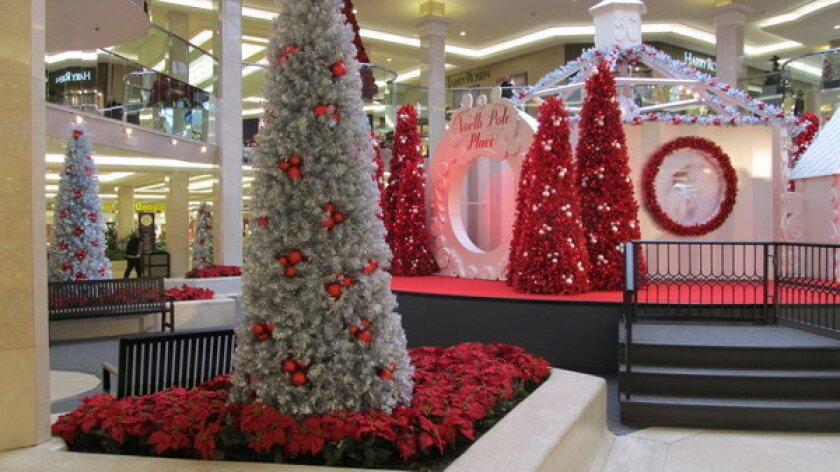 North Pole Place is part of the decoration of West Edmonton Mall in Alberta, Canada. It will celebrate Black Friday on Nov. 23 just like its U.S. counterparts.