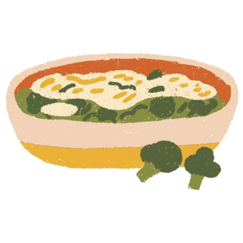 Thanksgiving power rankings: broccoli gratin