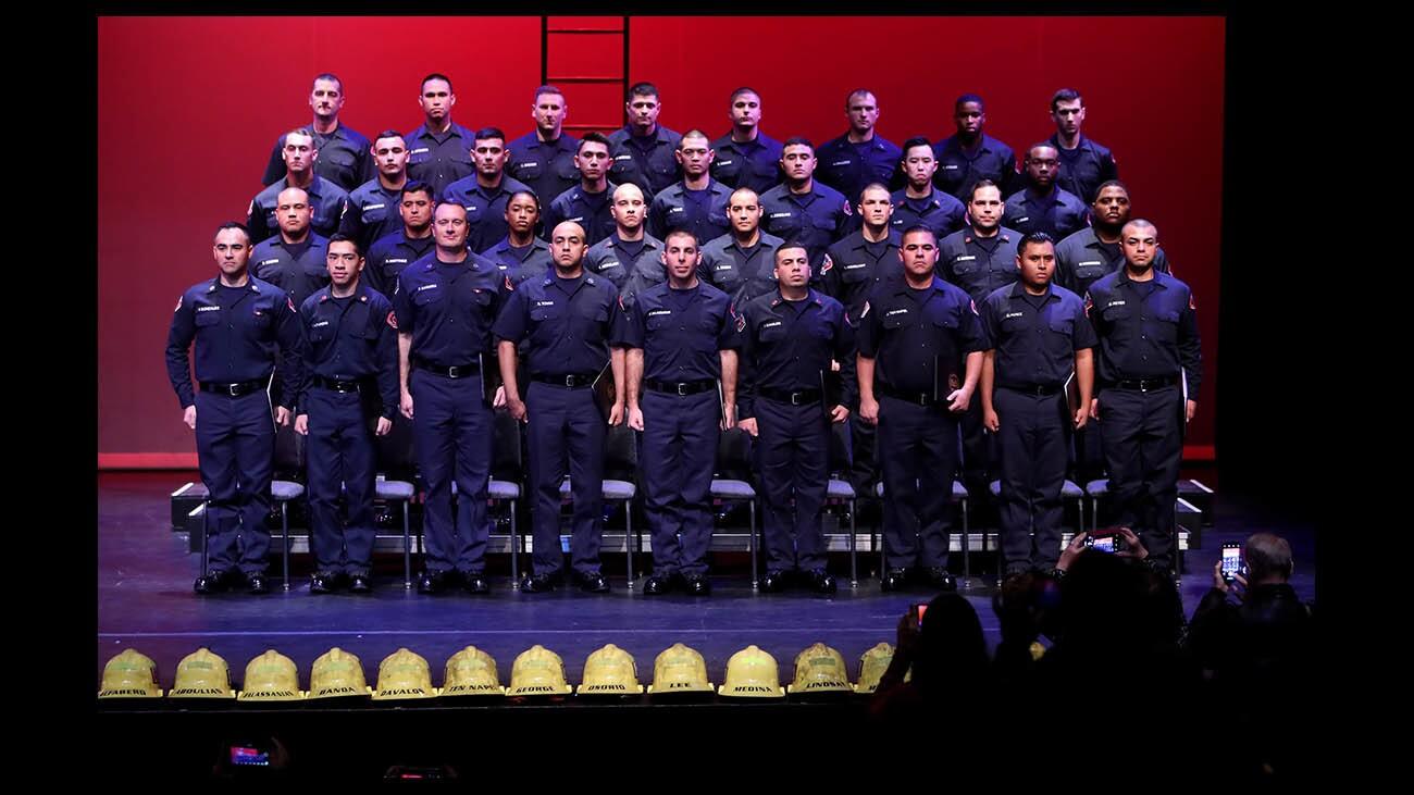 Photo Gallery: Verdugo Fire Academy Class XXI graduation
