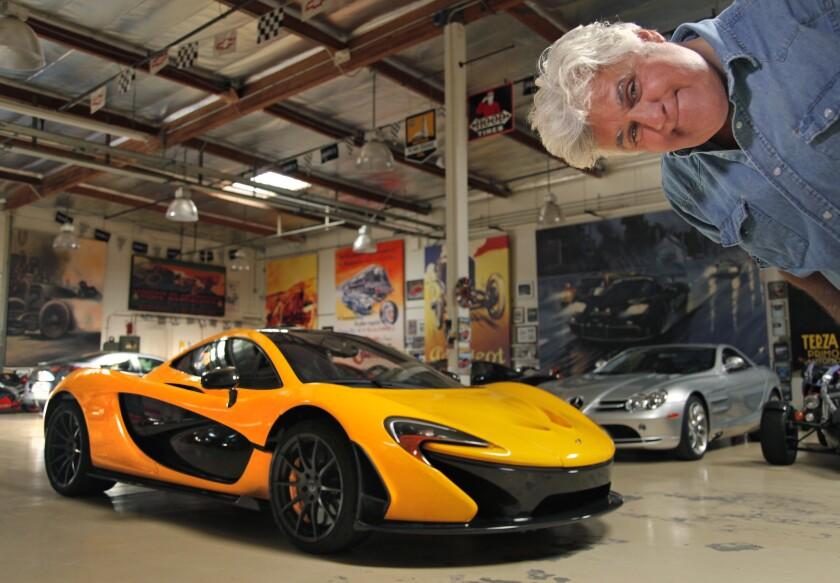 Jay Leno's cars
