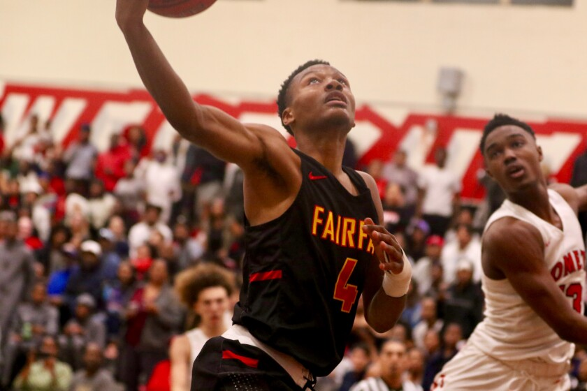 Sophomore DJ Dudley has given a lift to Fairfax entering this week's Classic at Damien.