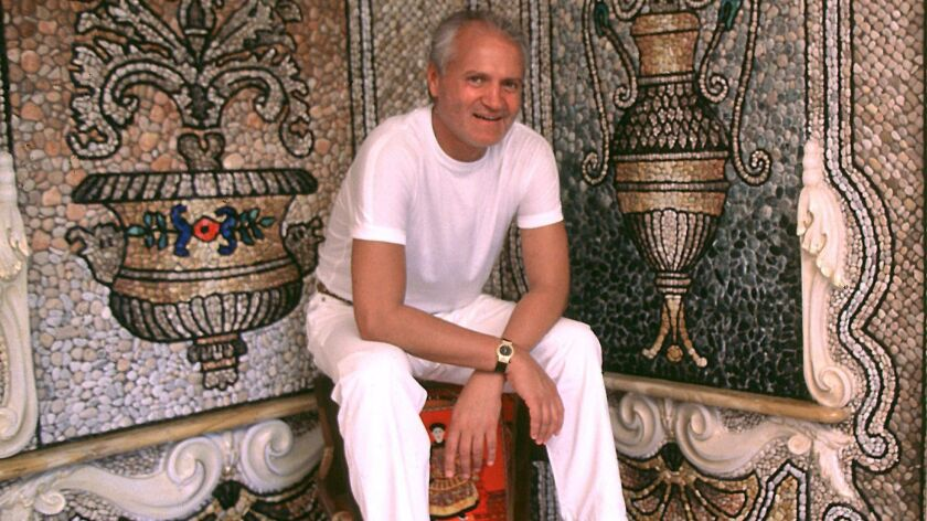 Famed Italian fashion designer Gianni Versace lived the life of opulence that Andrew Cunanan lusted