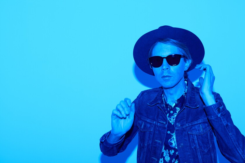 "Beck on Friday released a promotional video in advance of the release next month of his album ""Morning Phase."""