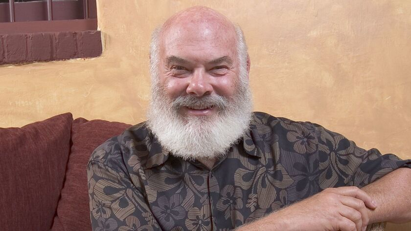 ** ADVANCE FOR SUNDAY, OCT. 23 **Dr. Andrew Weil's trademark full white beard and his bald head may