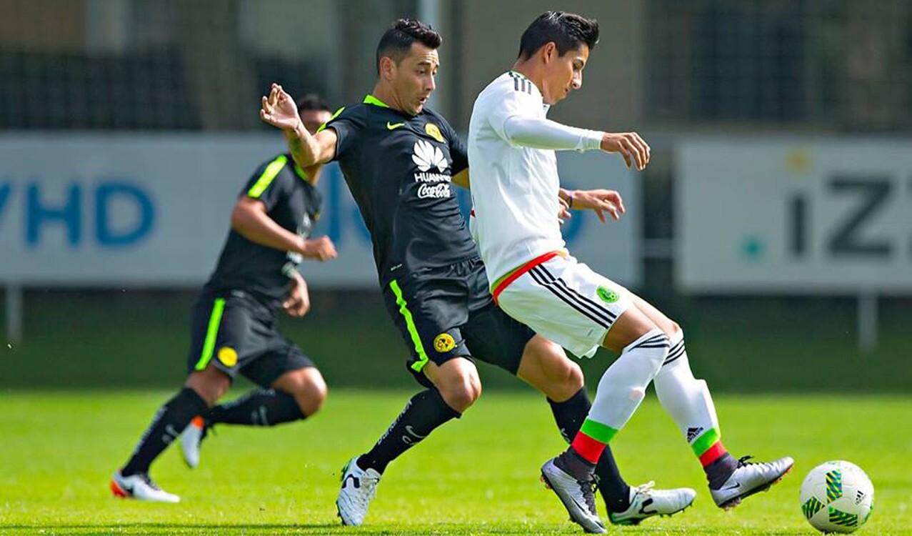 Amistoso: México 4-1 América