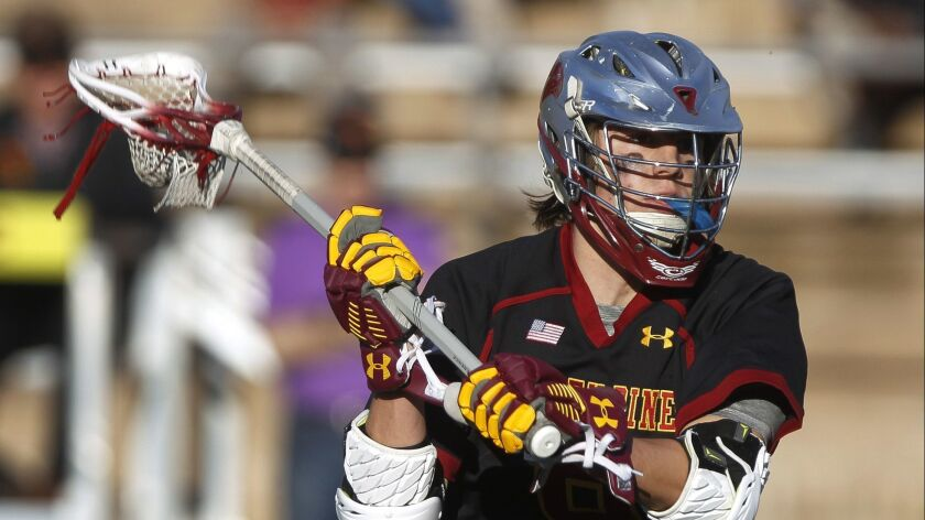 Senior midfielder Porter Hollen, who will attend Brown University, has helped Torrey Pines to a No. 1 ranking in the San Diego Section.