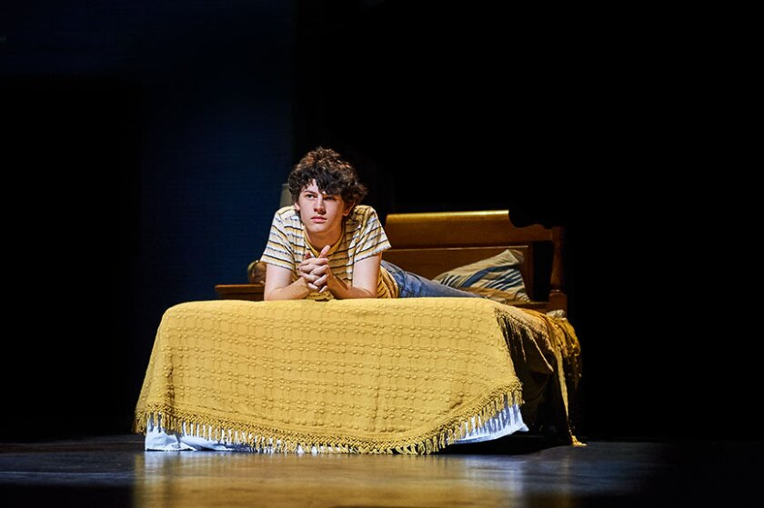 """Casey Likes as William Miller in the world-premiere musical, """"Almost Famous."""""""