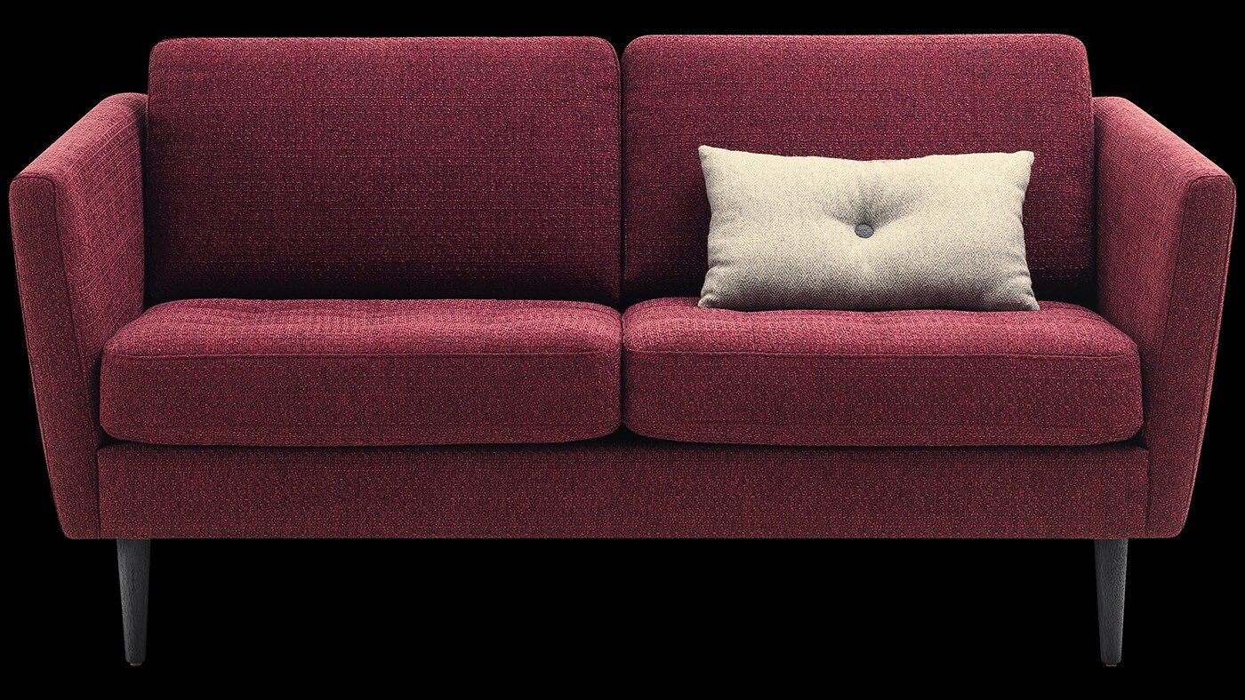 Bo Concept La Garde marsala, pantone's color of the year, has critics seeing red