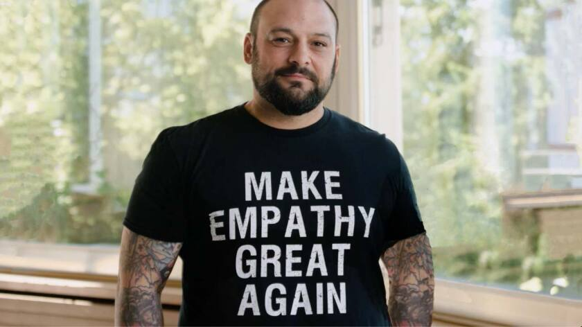 """Former white-power movement leader Christian Picciolini is featured in the documentary """"Love Wins Over Hate."""""""