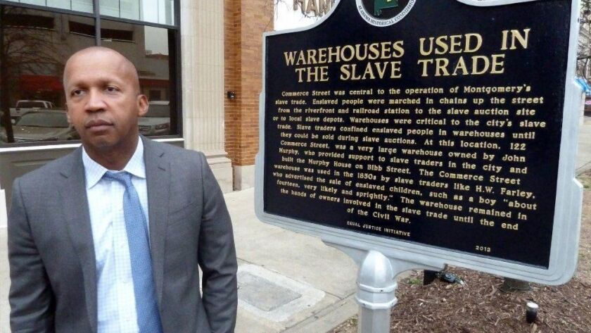 Civil rights hero Bryan Stevenson gets movie star moment