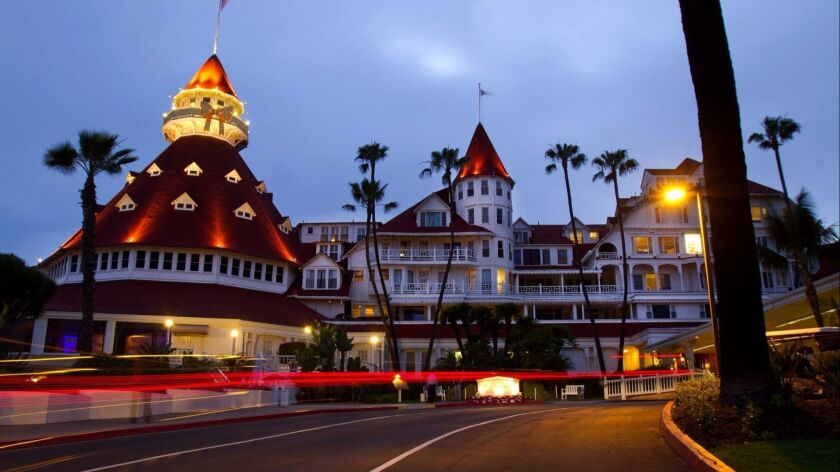 Kate Morgan's spirit is said to roam the grounds at the Hotel Del Coronado