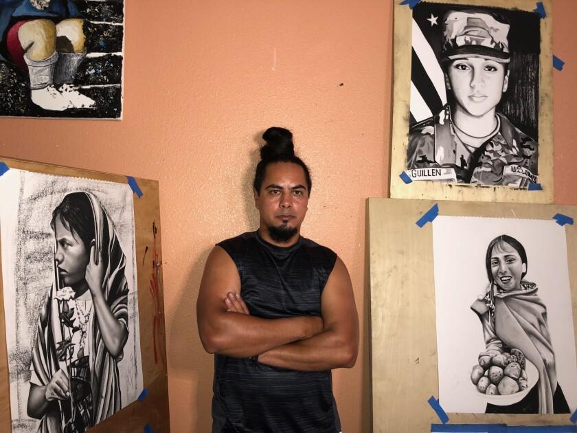 Este pintor nació en el municipio de Asunción Mita, en el oriente de Guatemala.