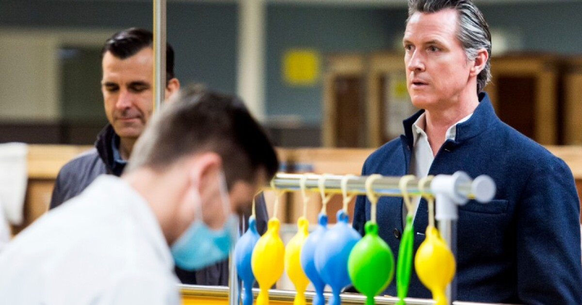 Newsom says California will review FDA-approved COVID-19 vaccines before releasing to public