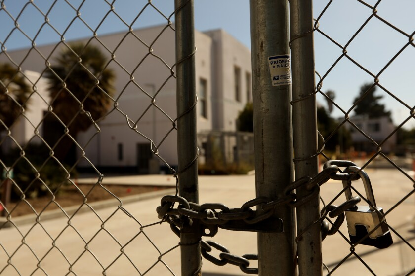 LAUSD schools like Venice High will not reopen for the new school year in August, with sports likely postponed until January.