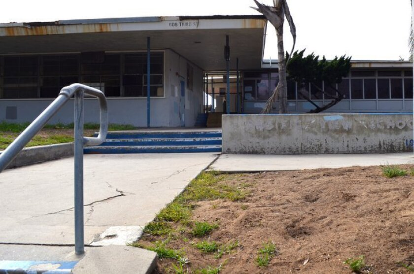 It's expected the city will officially own the Pacific View site, formerly an elementary school, next week.