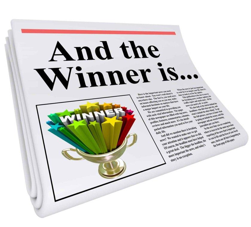 newspaper award