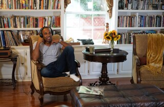 Hot Property | My Favorite Room: Jason George slows down the world in his thinking-man's living room