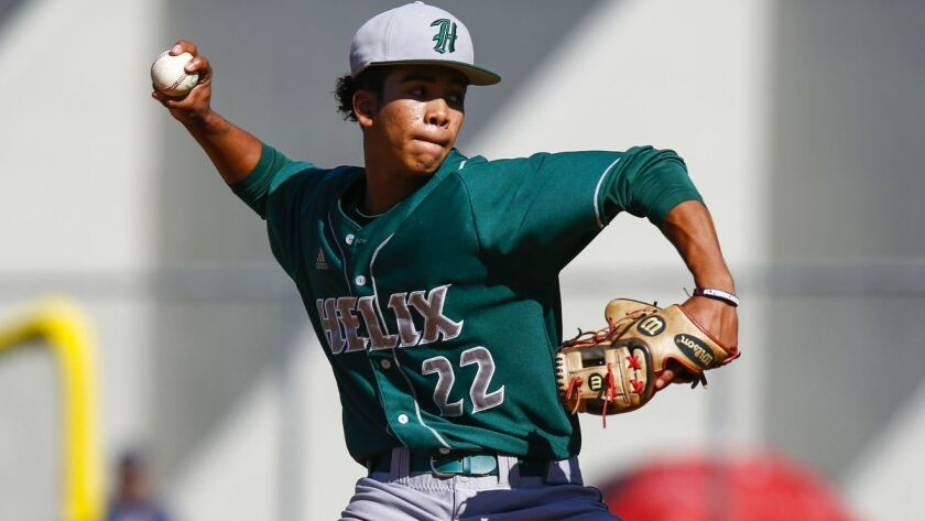Helix senior Alonzo Richardson has committed to San Diego State.