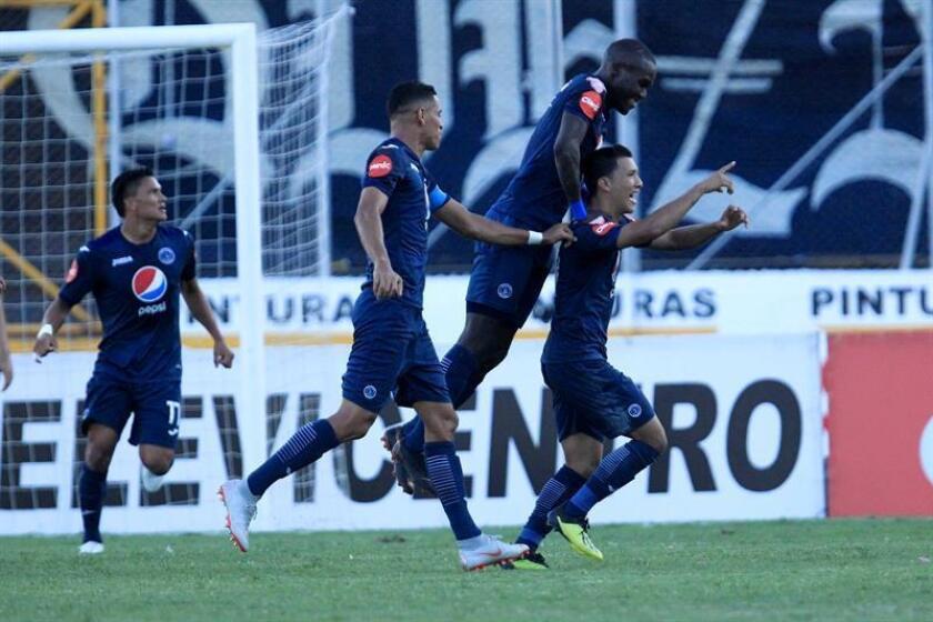 En la imagen, jugadores de Motagua de Honduras. EFE/Archivo