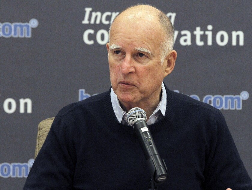 California Gov. Jerry Brown is among the officials who could get another pay raise this year.