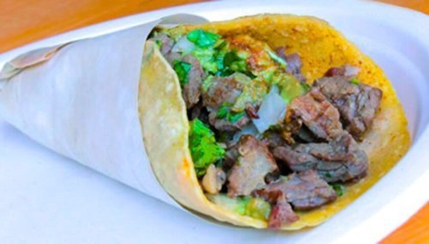 Angus Beef Carne Asada Taco is the top-selling item at The Taco Stand. (Courtesy Photos)