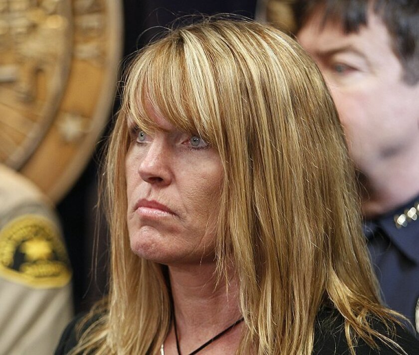 Carrie McGonigle, the mother of Amber Dubois, met with confessed murderer John Gardner for a half-hour Wednesday, May 12.