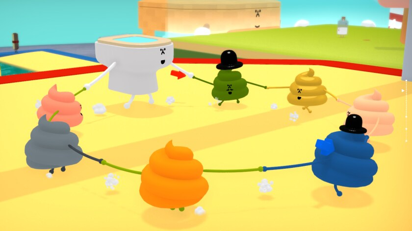 """""""Wattam"""" is joyful and silly for the sake of play, but there's still a message."""