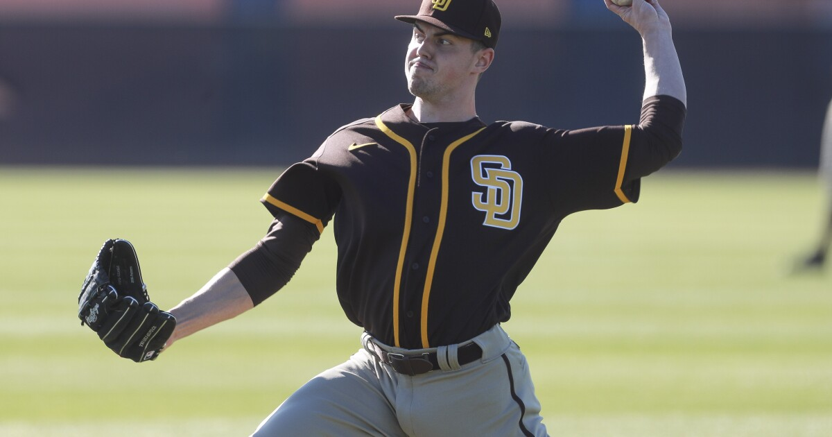 MacKenzie Gore, Seth Frankoff could be Padres teammates, will be relatives