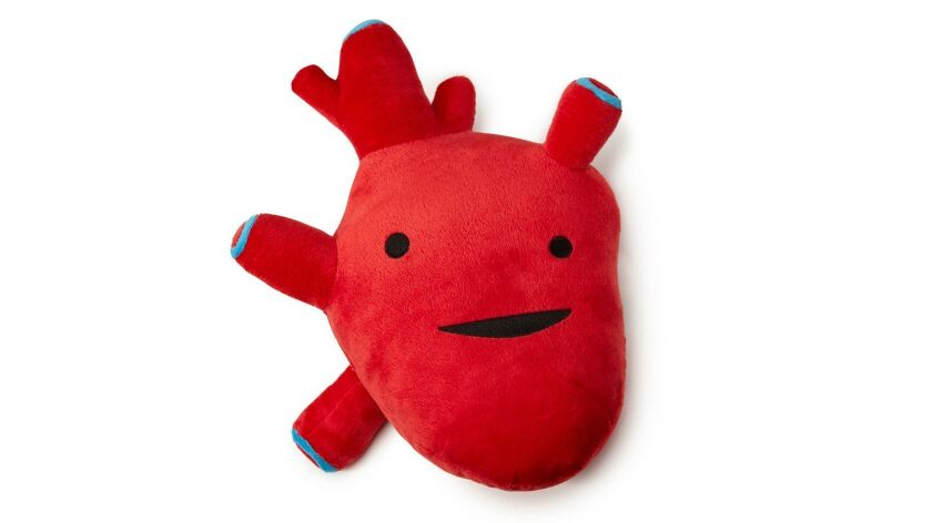Get real: Plush Organ, Heart, $18 at UncommonGoods.com. Photography: Uncommon Goods.