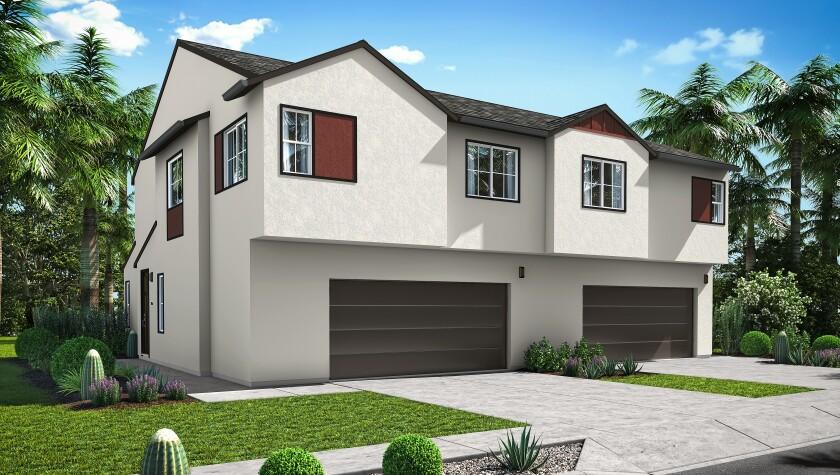 Homes in the Zutano neighborhood of the new master-planned community of Citro in Fallbrook will have three to four bedrooms.