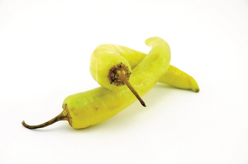 Banana peppers are relatively mild and sweet, and have luxuriant foliage.