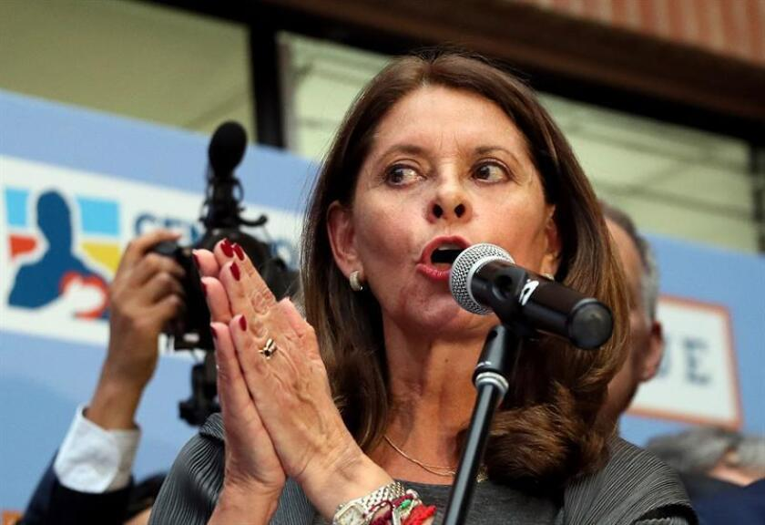 Fotografía de la vicepresidenta de Colombia Marta Lucía Ramírez. EFE/Archivo
