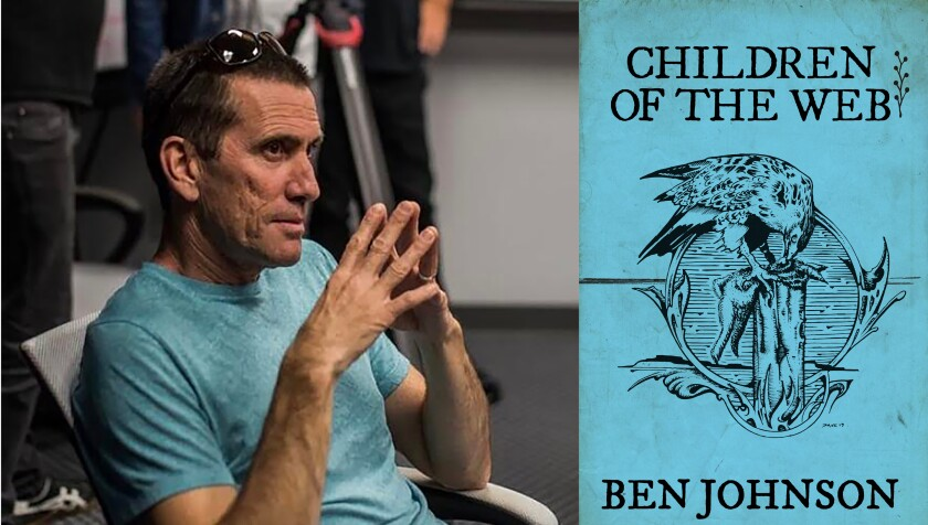 """Author Ben Johnson and his new book, """"Children of the Web"""""""