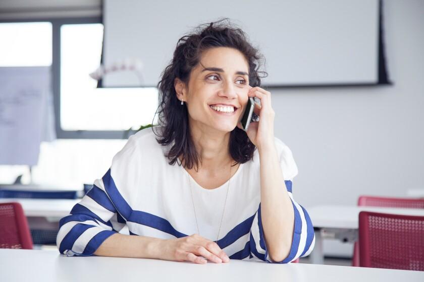 Tener esas herramientas de comunicación en el teléfono también es un motivo de agradecimiento.