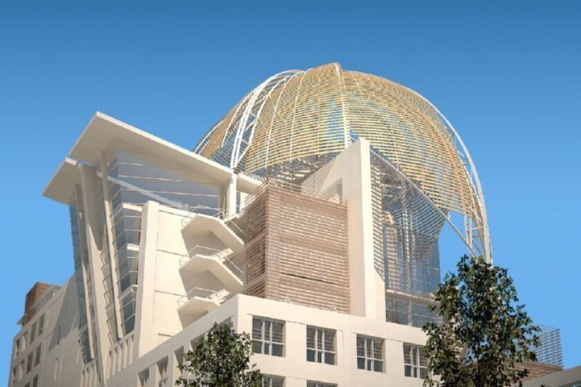 Proposed downtown San Diego library.