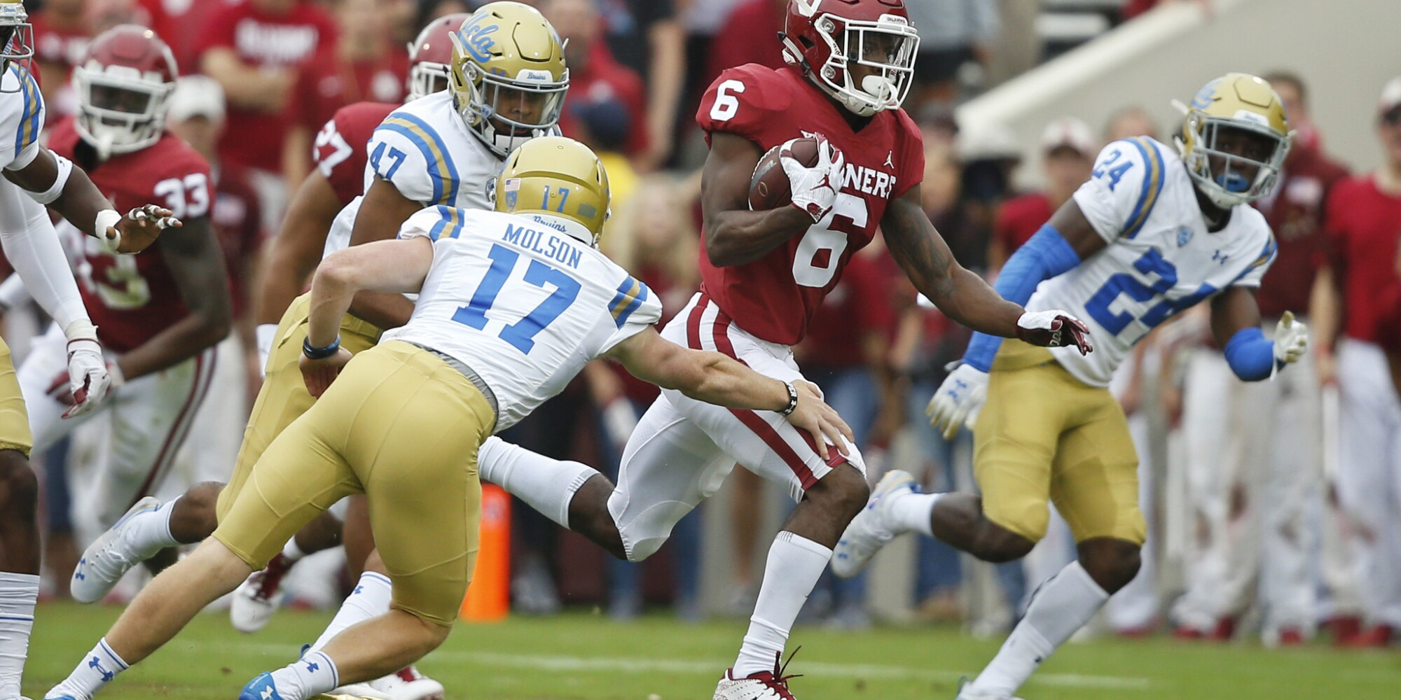 UCLA vs. Oklahoma: Recap from Bruins' 49-21 loss to Sooners