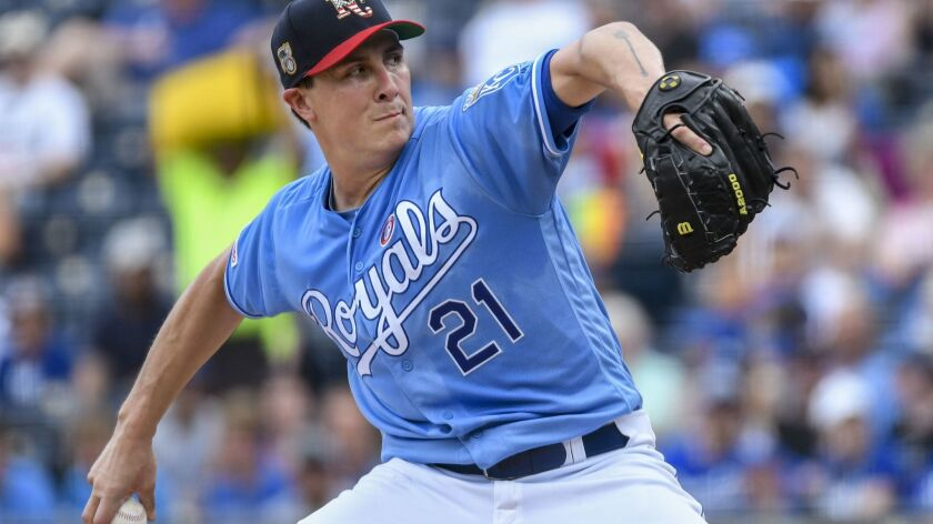 Homer Bailey was 3-1 with a 3.35 ERA and 37 strikeouts over his past eight starts with the Royals.