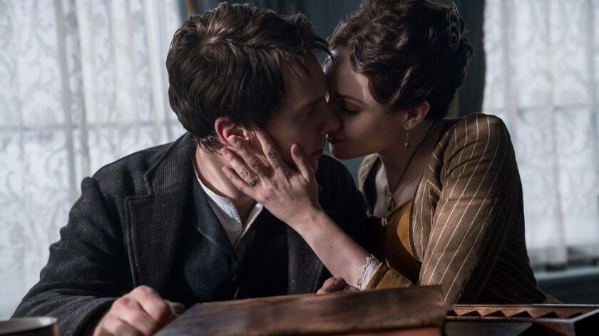 Benedict Cumberbatch and Tuppence Middleton star in 'The Current War'. Photo: Dean Rogers/ The Wei