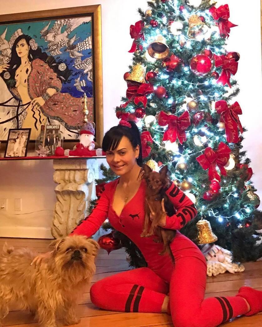 Con Ratatuille y Pariño en el arbolito de Navidad !!! Besos Navideños.