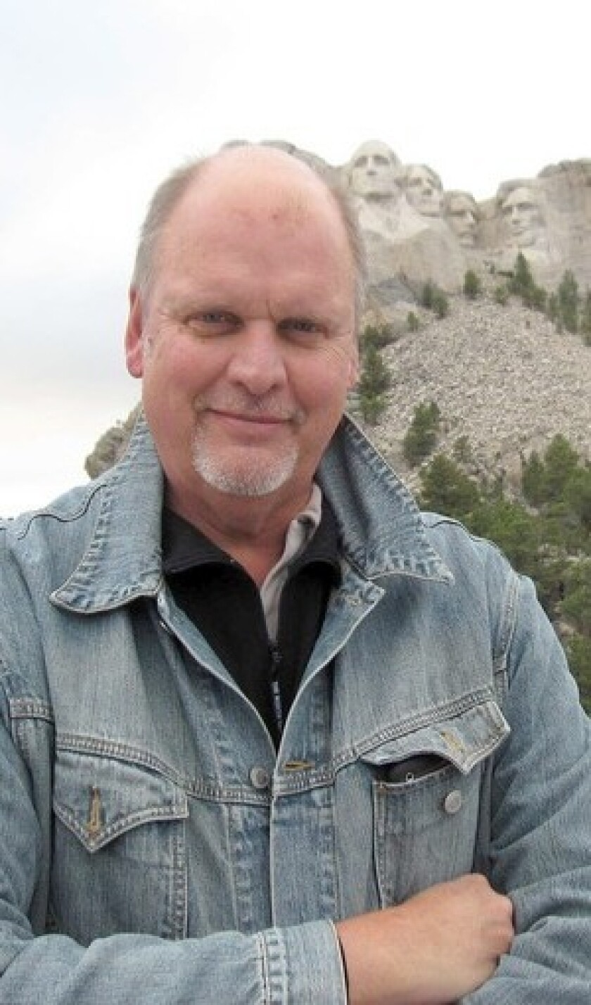 """Composer Michael Daugherty's """"Mount Rushmore,"""" his newest work, was inspired by the national memorial and his memory of family vacations."""