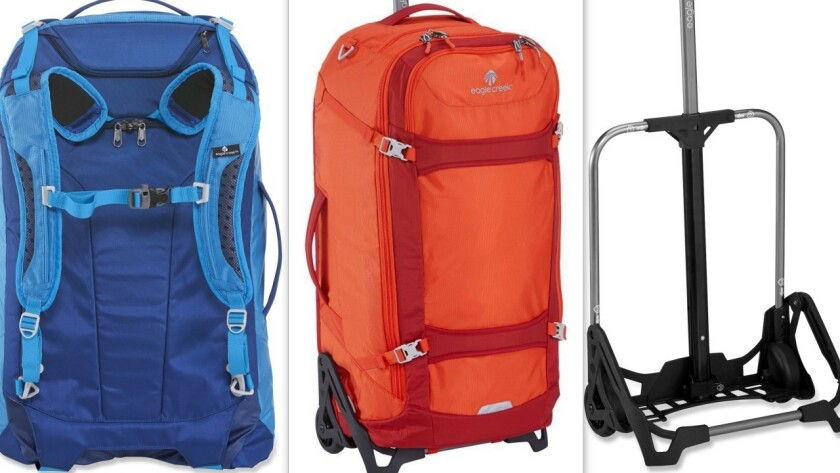 Gear Ec Lync Is A Workhorse Hybrid Of Backpack And Wheeled Bag Los Angeles Times