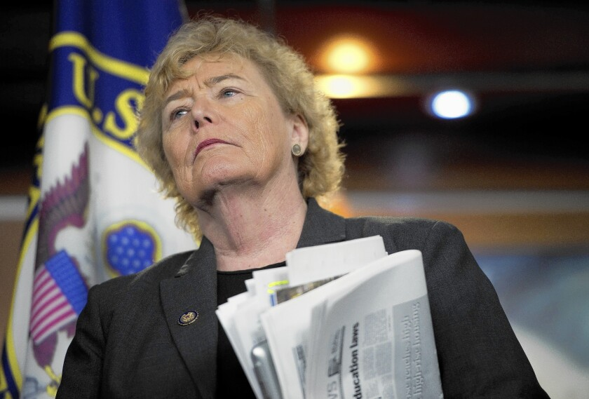Rep. Zoe Lofgren (D-San Jose) is among lawmakers who face the longest flights to return to Washington for voting as airlines reduce operations.