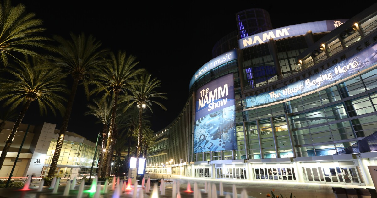 NAMM, world's largest music instrument and equipment show, debuts free all-virtual Believe in Music week