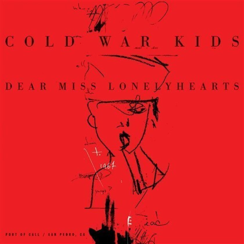 """This CD cover image released by Downtown shows """"Dear Miss Lonelyhearts,"""" by Cold War Kids. (AP Photo/Downtown)"""