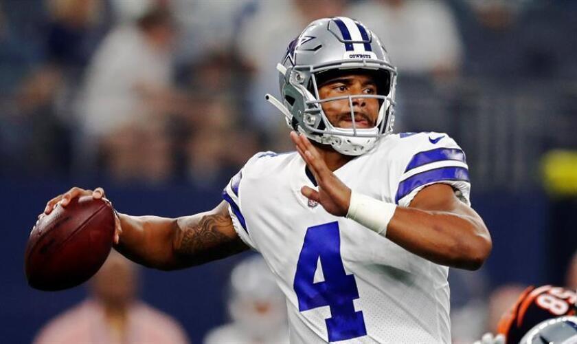 El jugador de Dallas Cowboys, Dak Prescott. EFE/Archivo